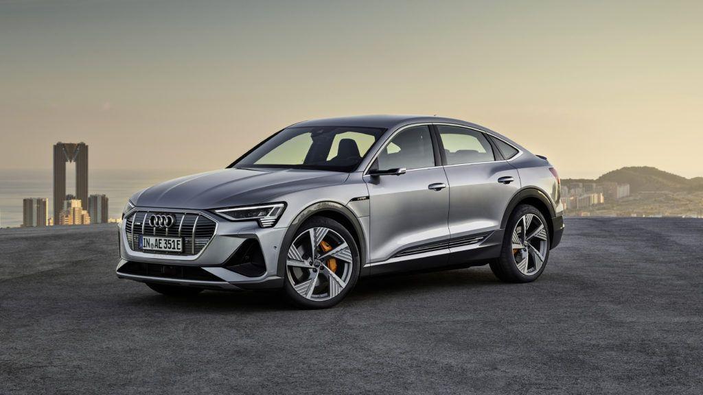 Audi E Tron Sportback Auf Der Los Angeles Auto Show Tron Coupe Audi