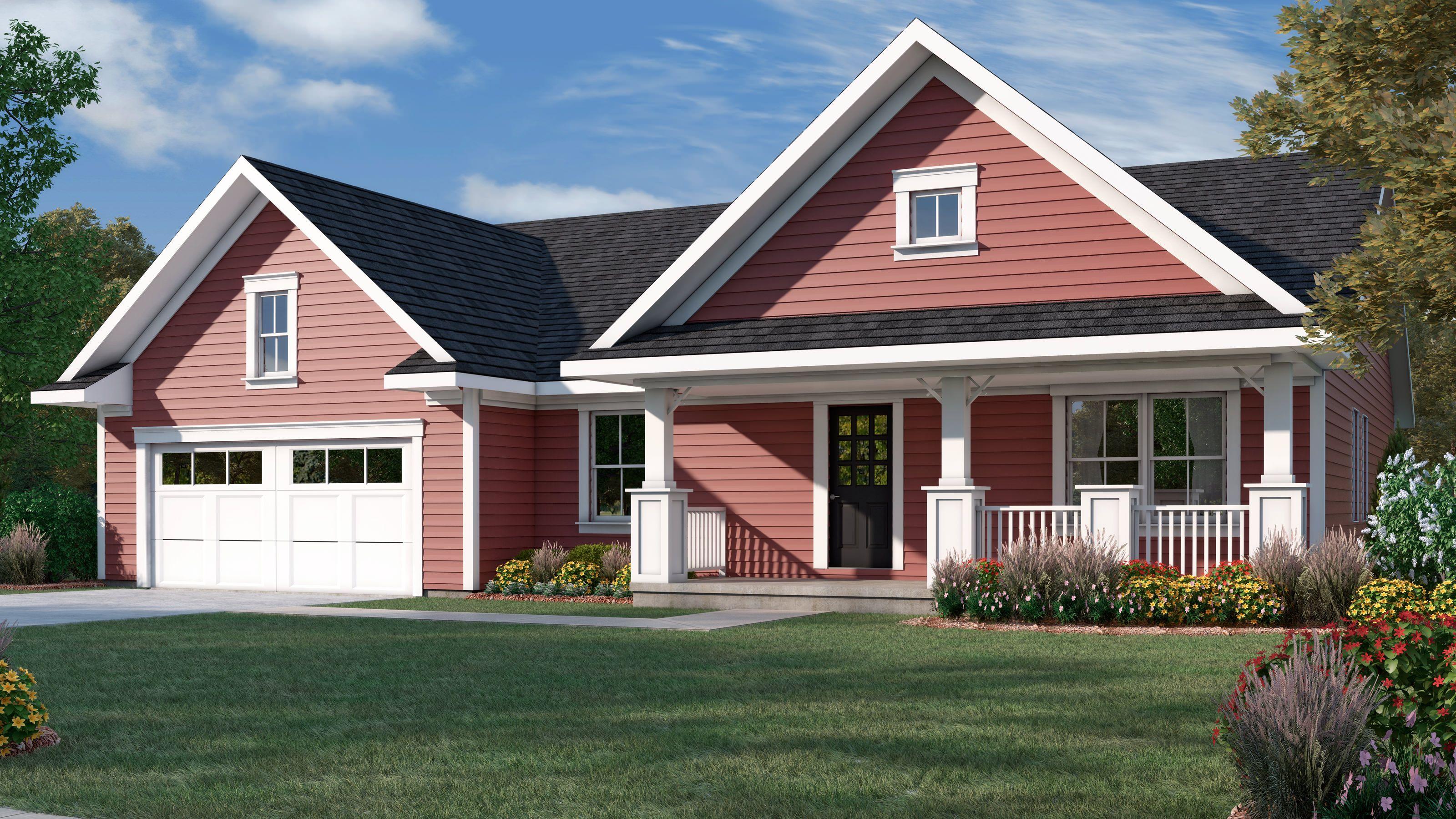 Juniper Custom Home Floor Plan Wausau Homes Ranch Style Homes House Floor Plans