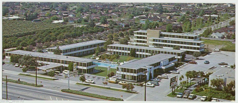 Uplander Motor Hotel Route 66 Panoramic Size P C Upland California