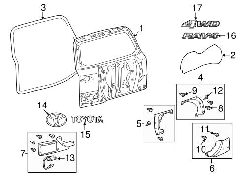body/door & components for 2012 toyota rav4 #2 | rav4, toyota, toyota rav4  pinterest