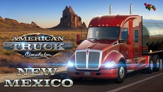 American Truck Simulator New Mexico Game Free Download Dengan Gambar