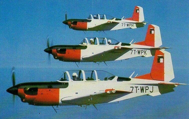 Beechcraft T-34C Turbo Mentor (7T-WPJ / 7T-WPK / 7T-WPH), Algerian Air Force