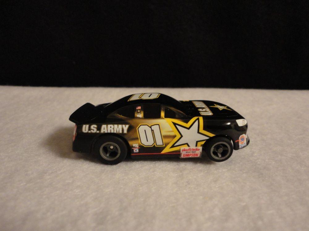 Life-Like Racing Nascar #01 US ARMY Pontiac HO Scale Slot