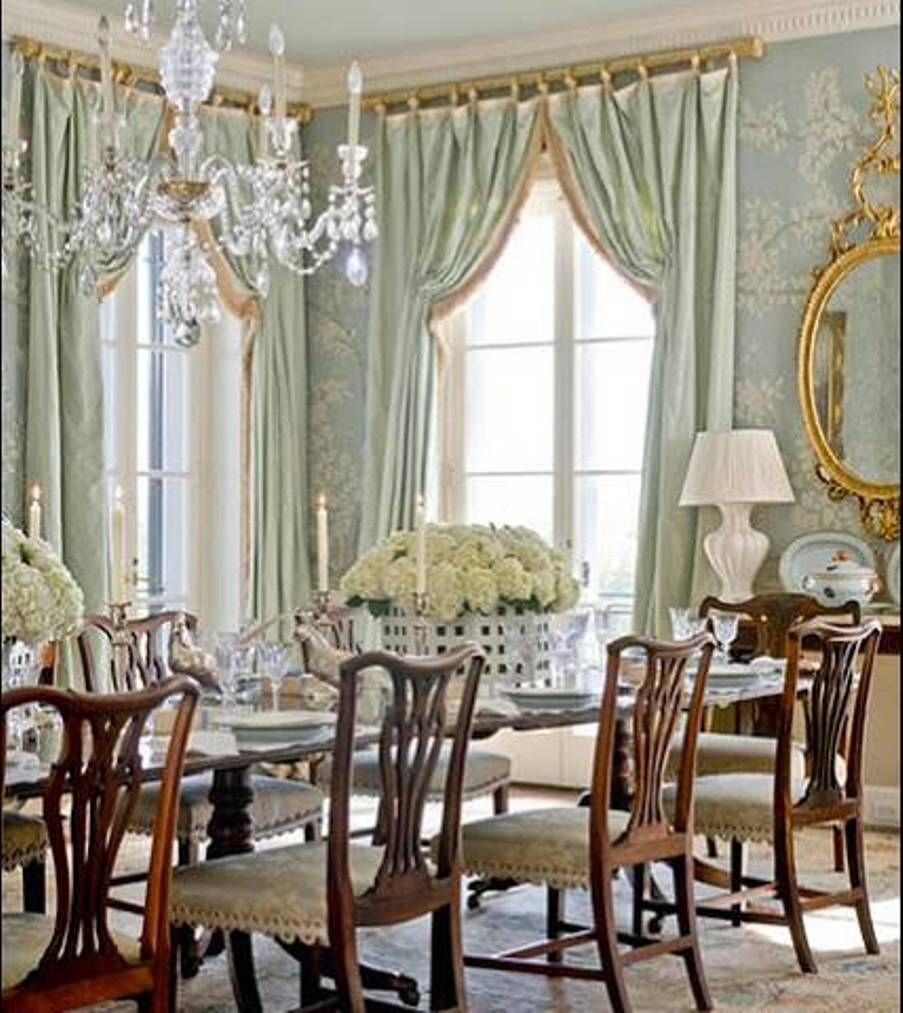 Dining Room , French Country Dining Room Decorating Ideas : French ...