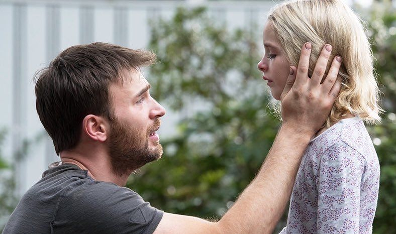This Shot Makes Me Want To Cry Chris Evans In Gifted With