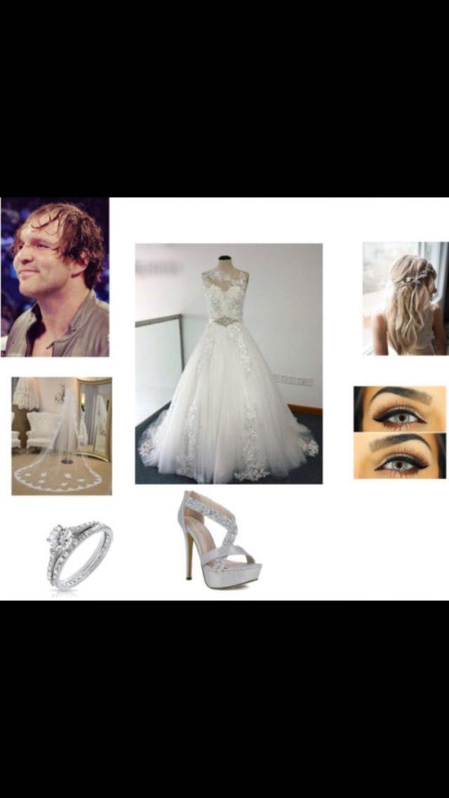 Dean Ambrose Wedding Dress