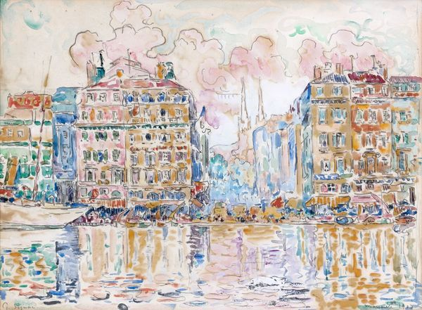 Paul Signac Paris 1863 Paris 1935 Marseille 1907 Aquarelle