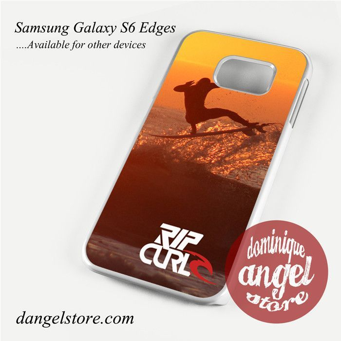 Rip Curl Sunset Surfing Phone Case for Samsung Galaxy S3/S4/S5/S6/S6 Edge