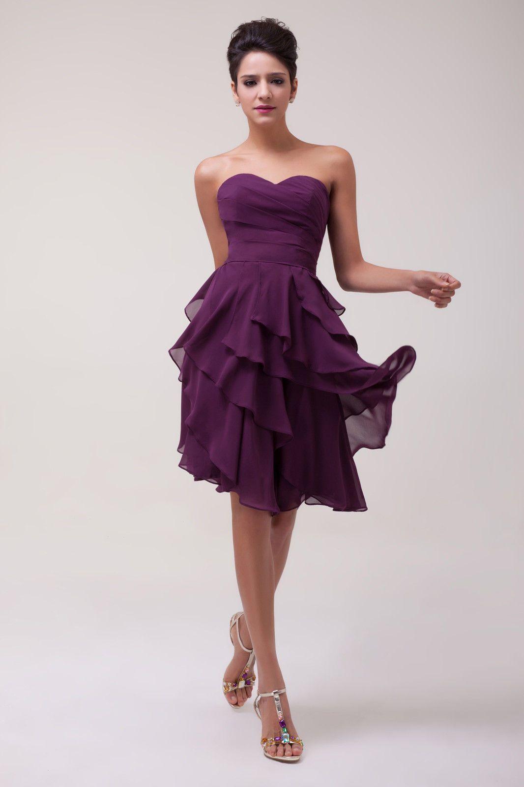 Partykleid Kurz Party Abendkleid Cocktailkleid Brautkleider