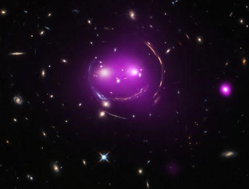 Gravity\u0027s Grin Image Credit X-ray - NASA / CXC / J Irwin et al