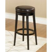 "Found it at Wayfair - Owen 30"" Swivel Bar Stool with Cushion  Overall: 30"" H x 16"" W x 16"" D Overall Product Weight: 14lbs $140"