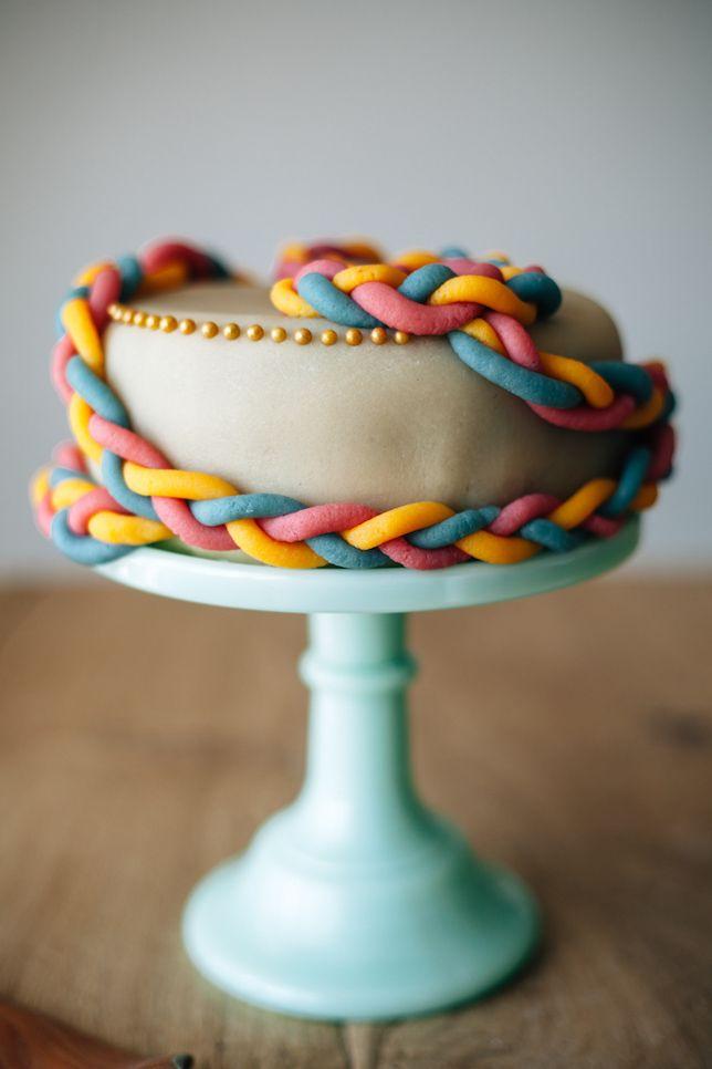 marzipan cake molly yeh