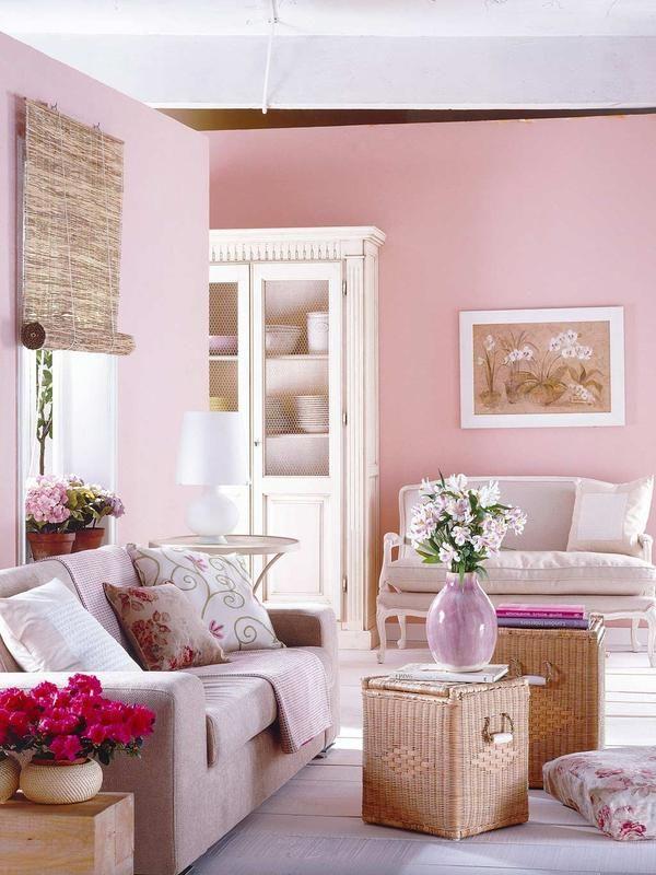Salon Rustico En Rosa Ampliacionjpg 600800 Cool House Idea My - Salon-rustico