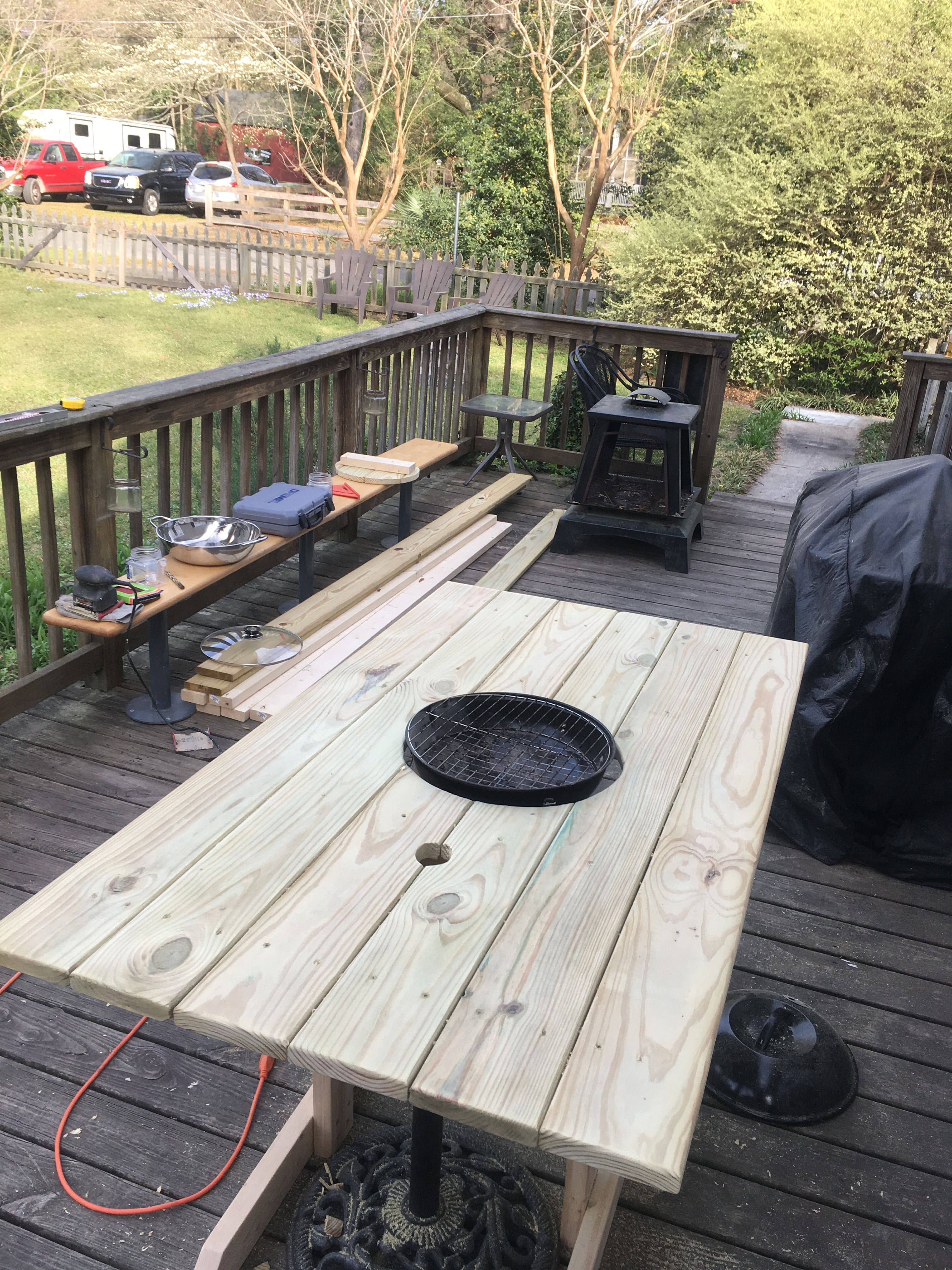 Korean Barbecue Table Diy Bbq Table Diy Grill Table