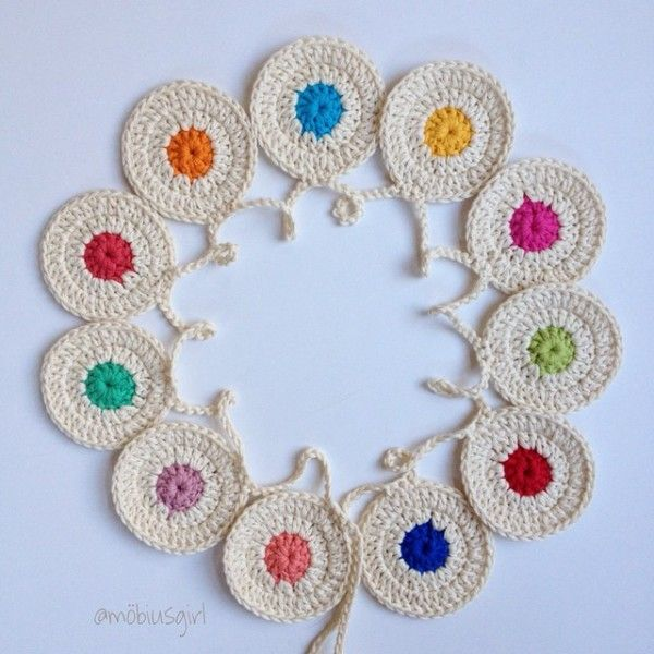 Vistoso Patrón De Crochet Bunting Embellecimiento - Ideas de ...