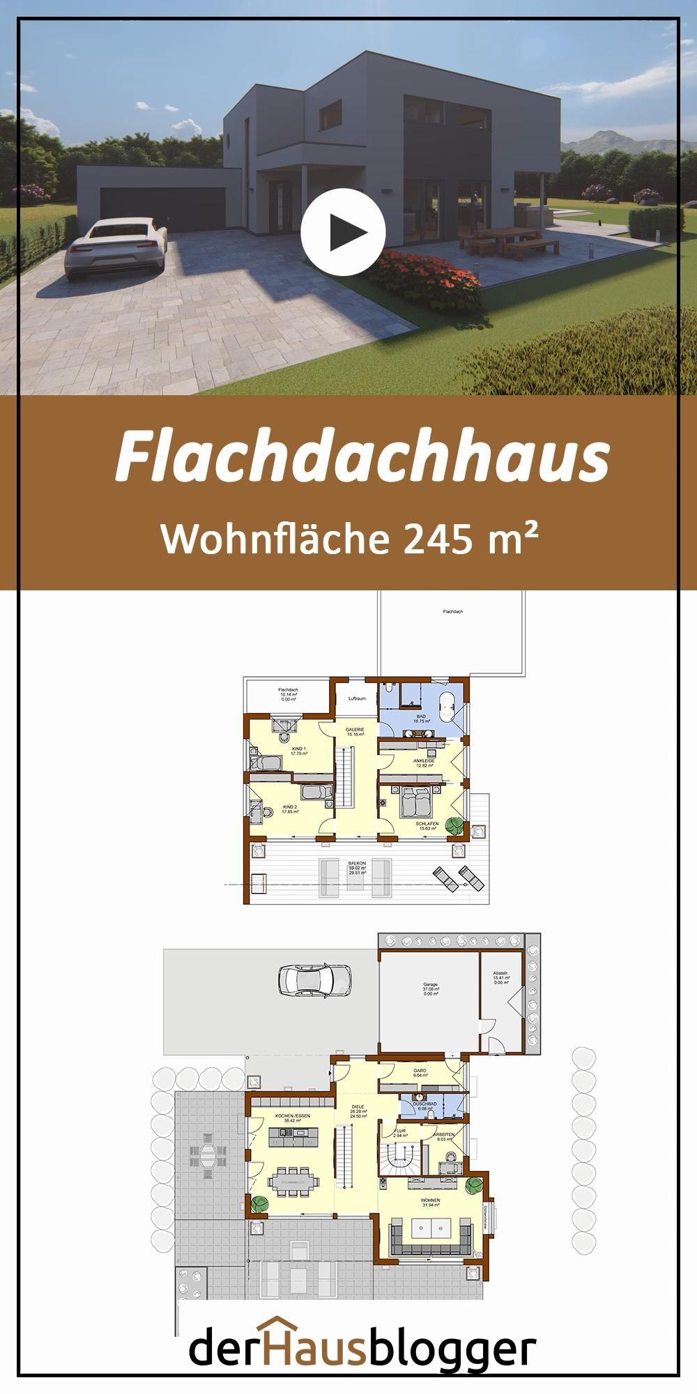 Flachdachhaus 245m2