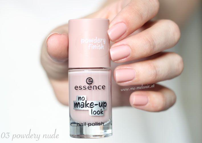 Essence No Make Up Look Nail Polish 03 Powdery