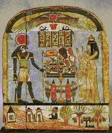 Ancient Egyptian Architecture | Stela of Djed-amon-iu-ankh, Thebes, Deir el-Bahari, Third Intermediate ...