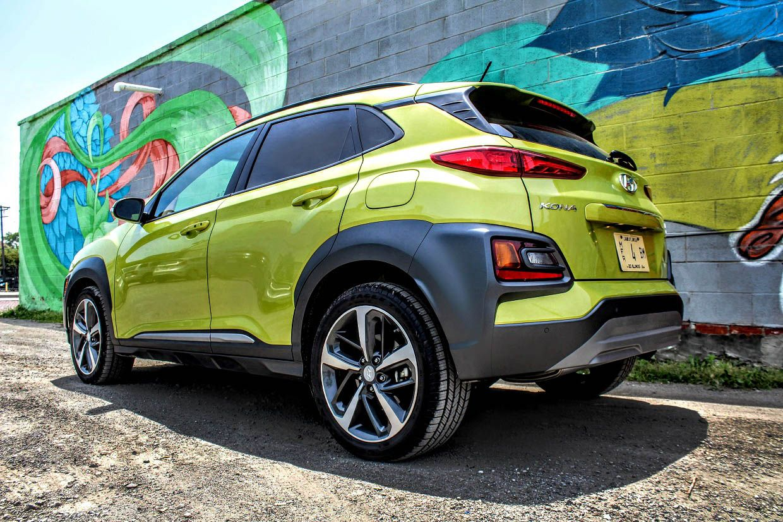 2019 Hyundai Kona Review A Lime Green Crossover With A Twist Kona Hyundai Hyundai Hyundai Cars