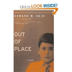 Out Of Place Want To Read It Memoirs Sayings Books