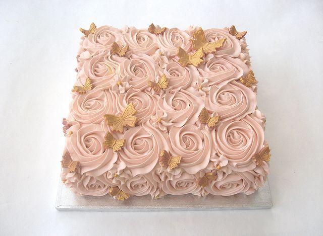 Rose Gold Swirl Butterfly Cake  Rose Gold Swirl Butterfly Cake  #butterfly #Cake #gold #Rose #swirl