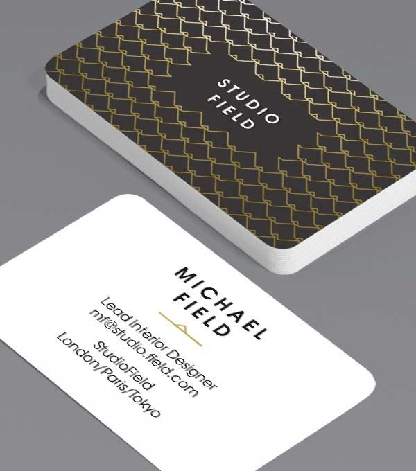 Tailored Collection Business Card Designs Gold Foil Spot Uv Templates Moo United States Unique Business Cards Business Card Design Template Design
