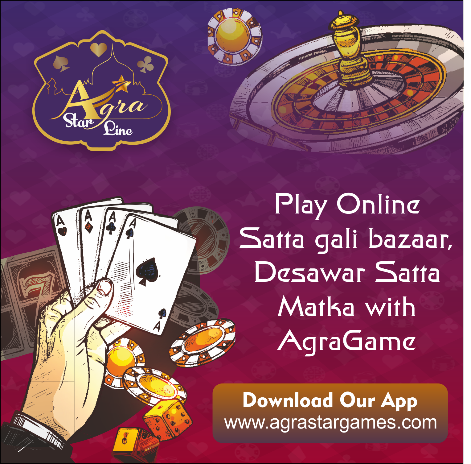 Pin by Agra StarGame on Satta Gali Bazar | Play online, Agra, Play