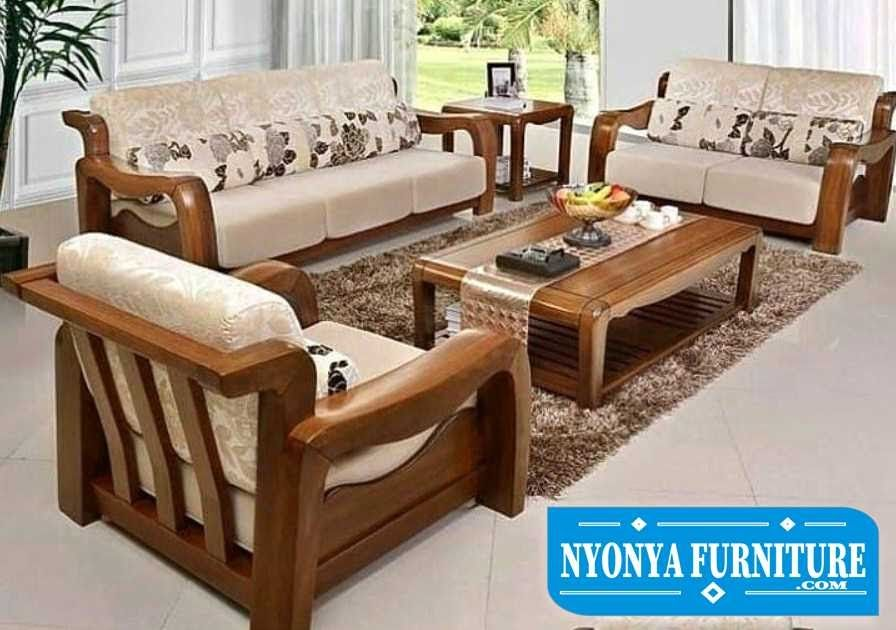 Cool Harga Sofa Ruang Tamu Minimalis 2019 In 2020 Wooden Sofa