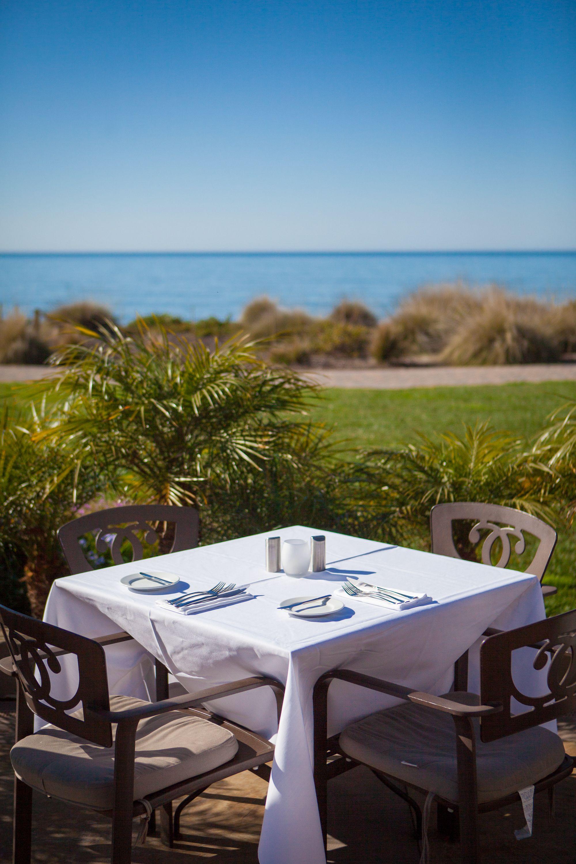Ocean View Dining Lido At Dolphin Bay Resort Spa Pismo Beach Ca Pismo Beach California Coastal Outdoor Furniture Sets