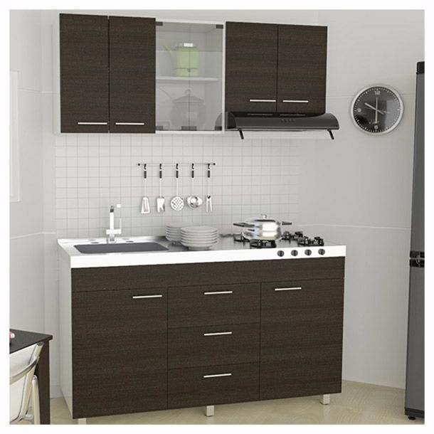 Cocina lumina 1.5 m chocolate | Arch, Apartments and Room