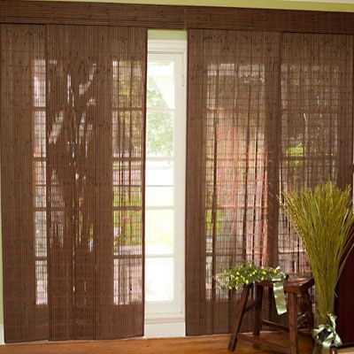 Blinds Com Woven Wood Sliding Panels I Want These