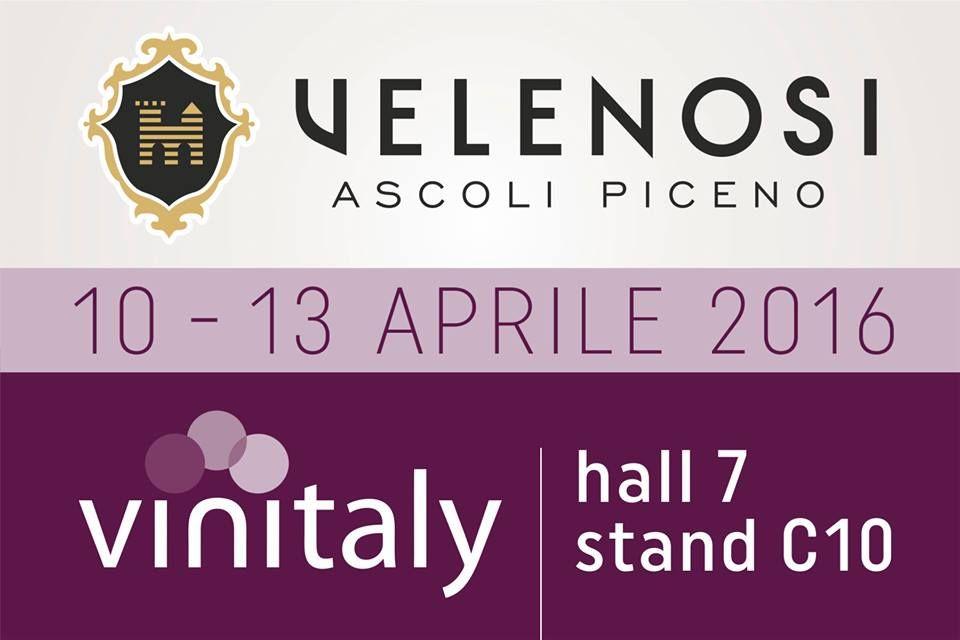VINITALY: VELENOSI VINI presente! Un appuntamento annuale a cui non possiamo mancare! Dal 10 al 13 Aprile saremo a Verona per la 50^ edizione di VINITALY, salone internazionale dei vini e distillati.  Vieni a trovarci alla Hall 7, stand C10. - VINITALY: VELENOSI VINI is there! An annual event we couldn't miss! From 10th to 13th of April we'll be in Verona for the 50th edition of VINITALY, international wine & spirits exhibition. Join us at Hall 7, stand C10. #WorldWine #vinipiceni 