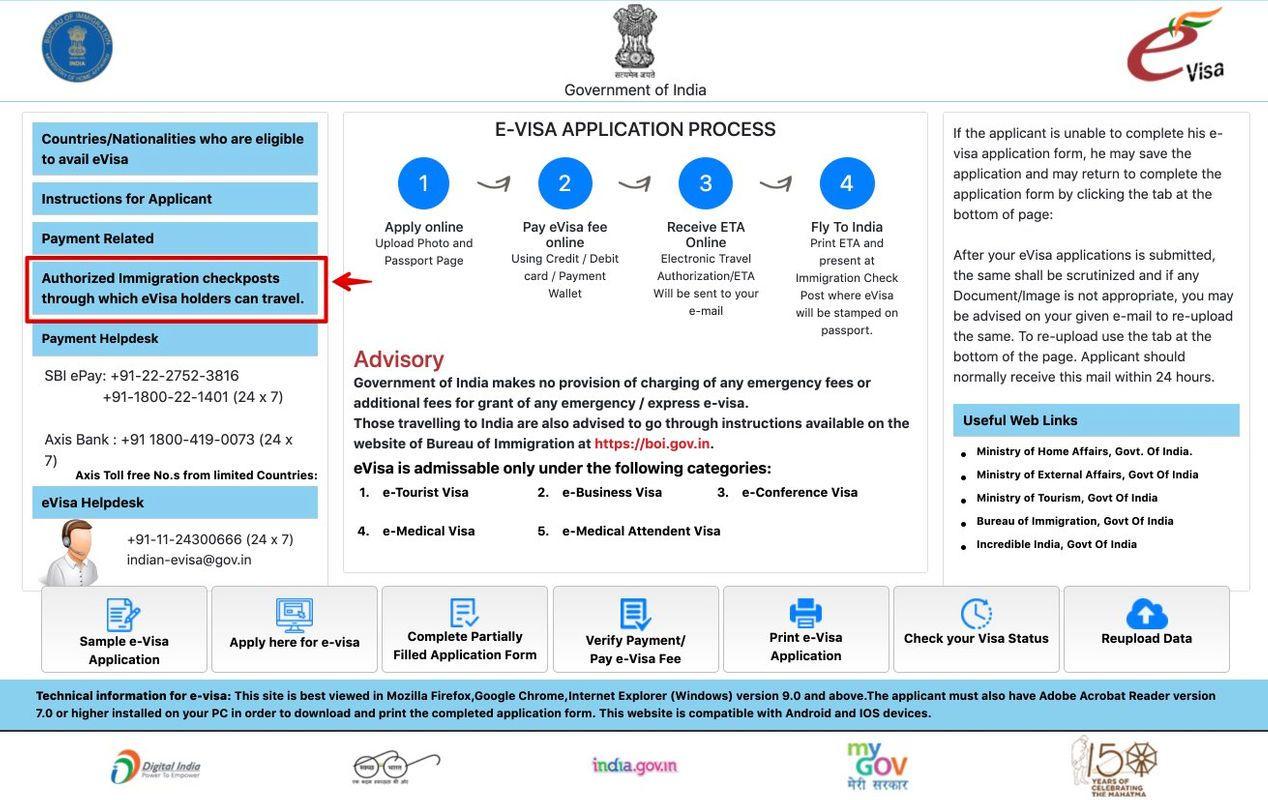 Indian Visa Application Online E Visa In 2020 Visa Visa Online Application