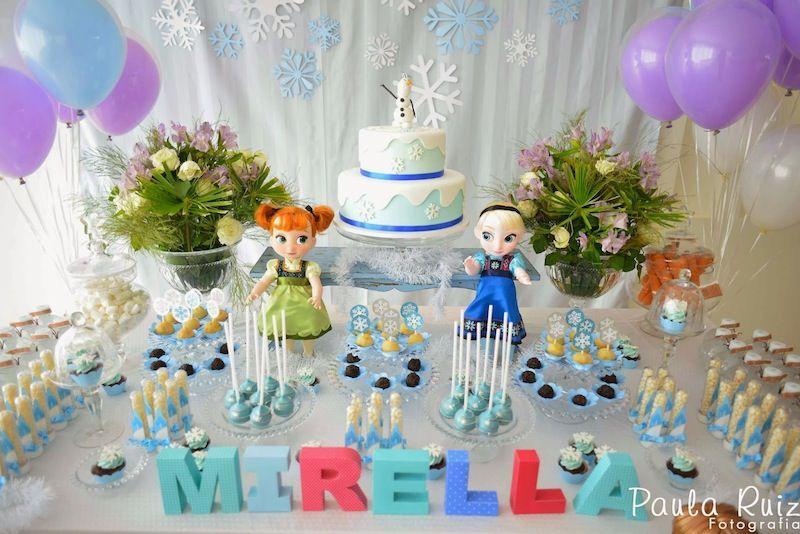 decorao de festa frozen Pesquisa Google Decorao de Frozen