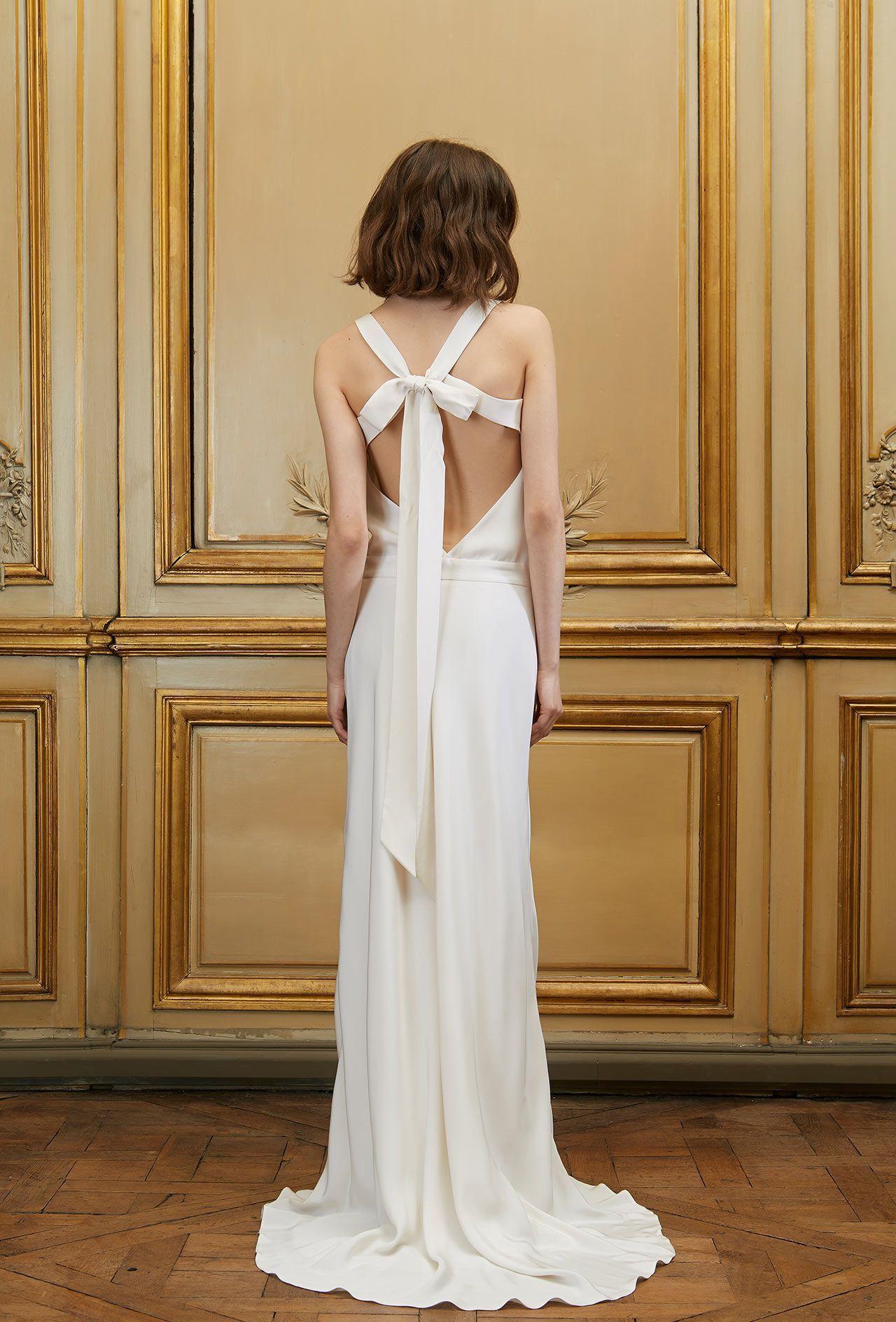 Robe de mariée longue Anatole - Signature Collection - Robes de mariée - Delphine Manivet ...