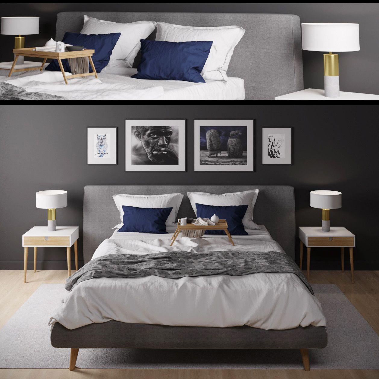 Bed pillow pictures d model d model dmodeling pinterest