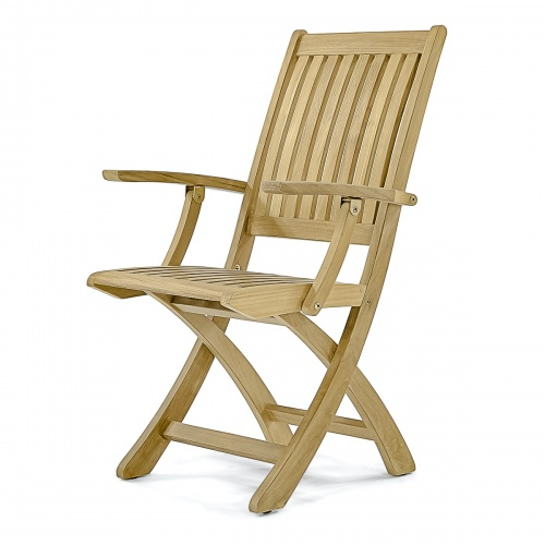 Barbuda Folding Teak Armchair Westminster Teak in 2020