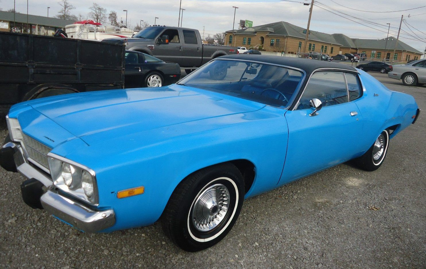 Petty Blue and 15K Miles: 1973 Plymouth Satellite