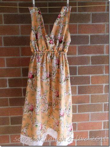 dress pattern I would make it longer, more maxi dress-ish. | Sewing ...
