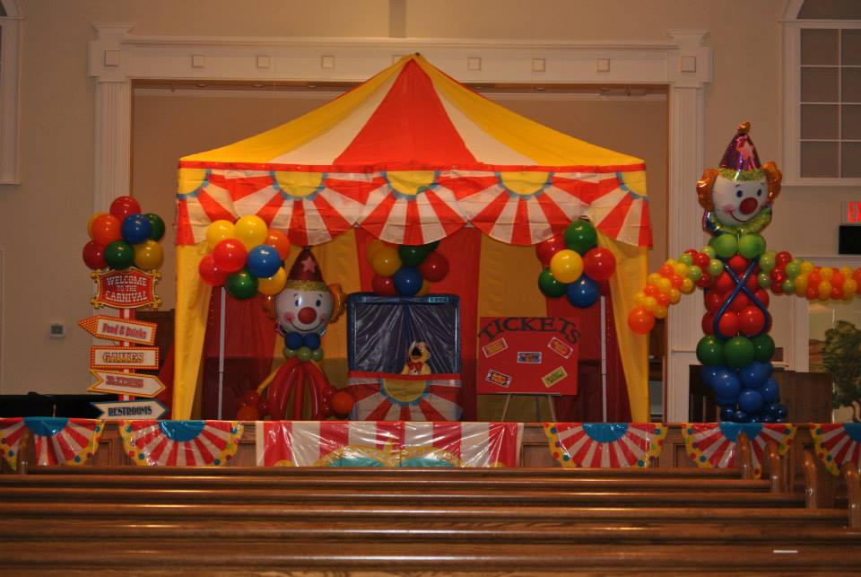 Everywhere Fun Fair VBS Stage   VBS Ideas   Fun fair, Circus