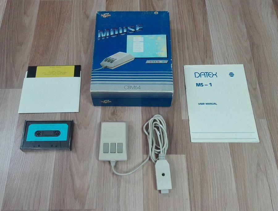 Datex Optical Mouse (C64)