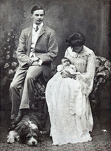 bearded collie & family.