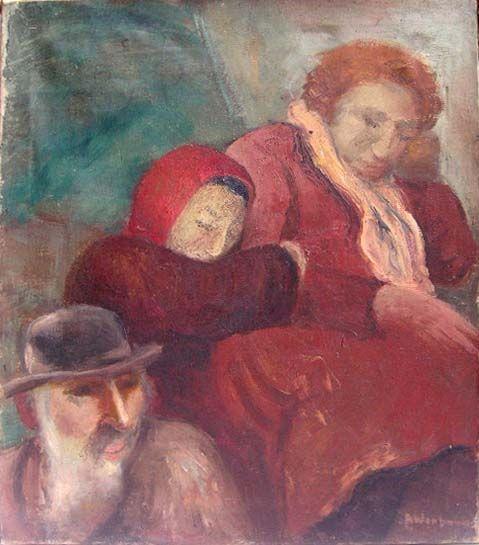 Albert Wenbaum (1890-1943) The Refugees