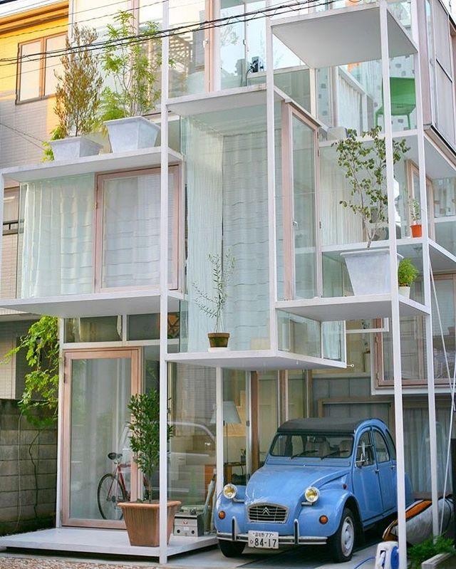 House na sou fujimoto architects tokyo fassaden - Architektur tokyo ...
