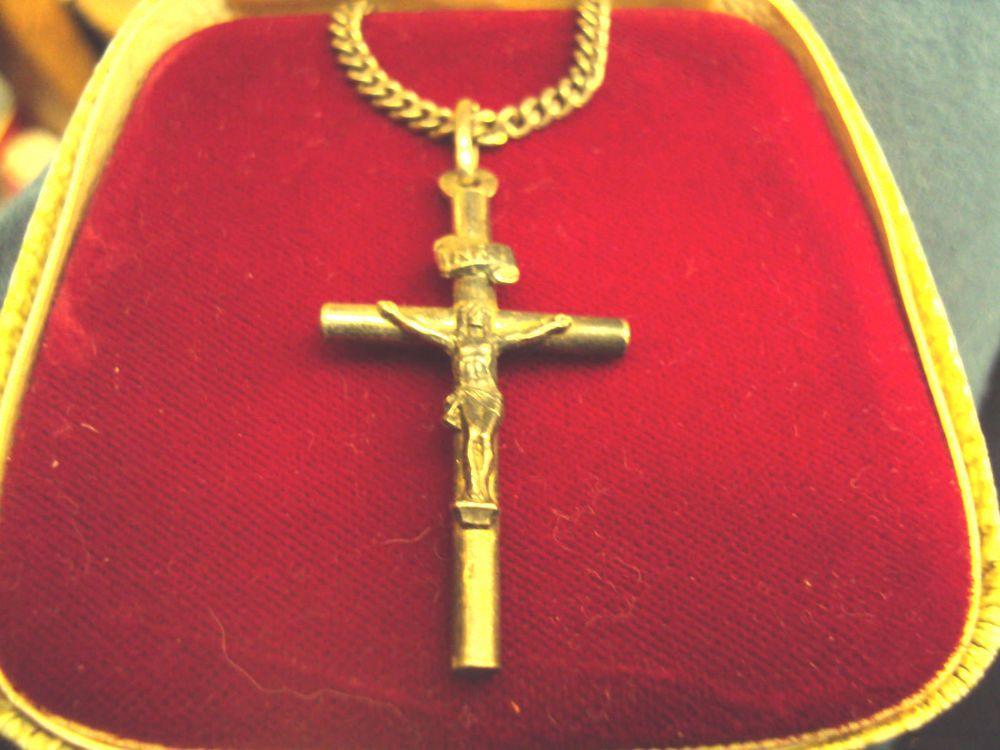 925 Sterling Silver INRI Crucifix Pendant