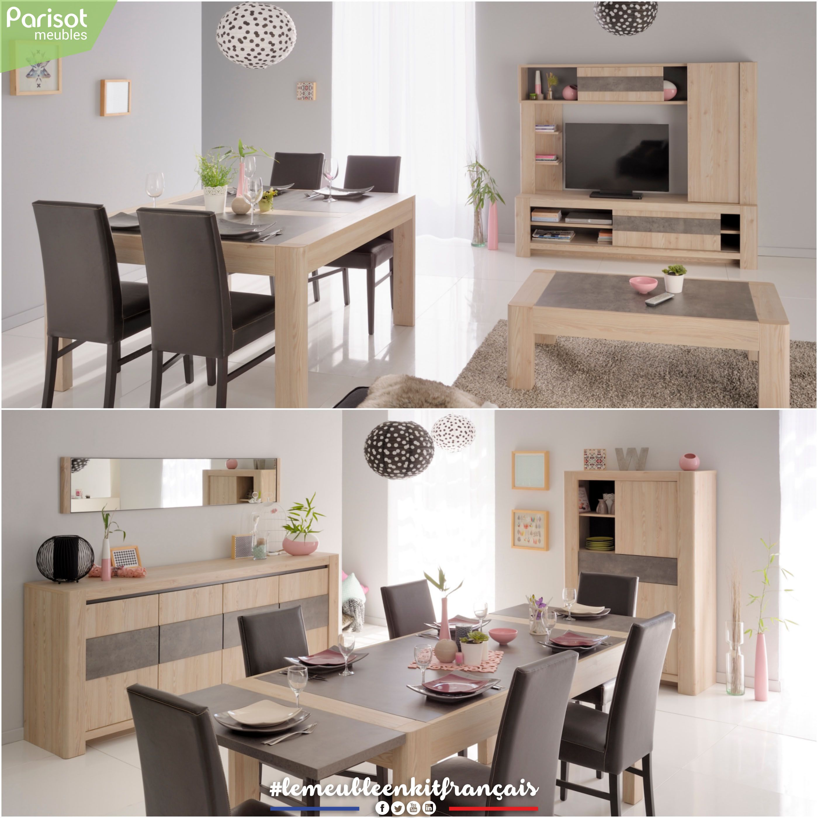 Chris By Parisot Meubles Chris A Living Room Furniture With An Industrial Contemporary Style Rounded Shapes Living Room Furniture Furniture Bedroom Decor