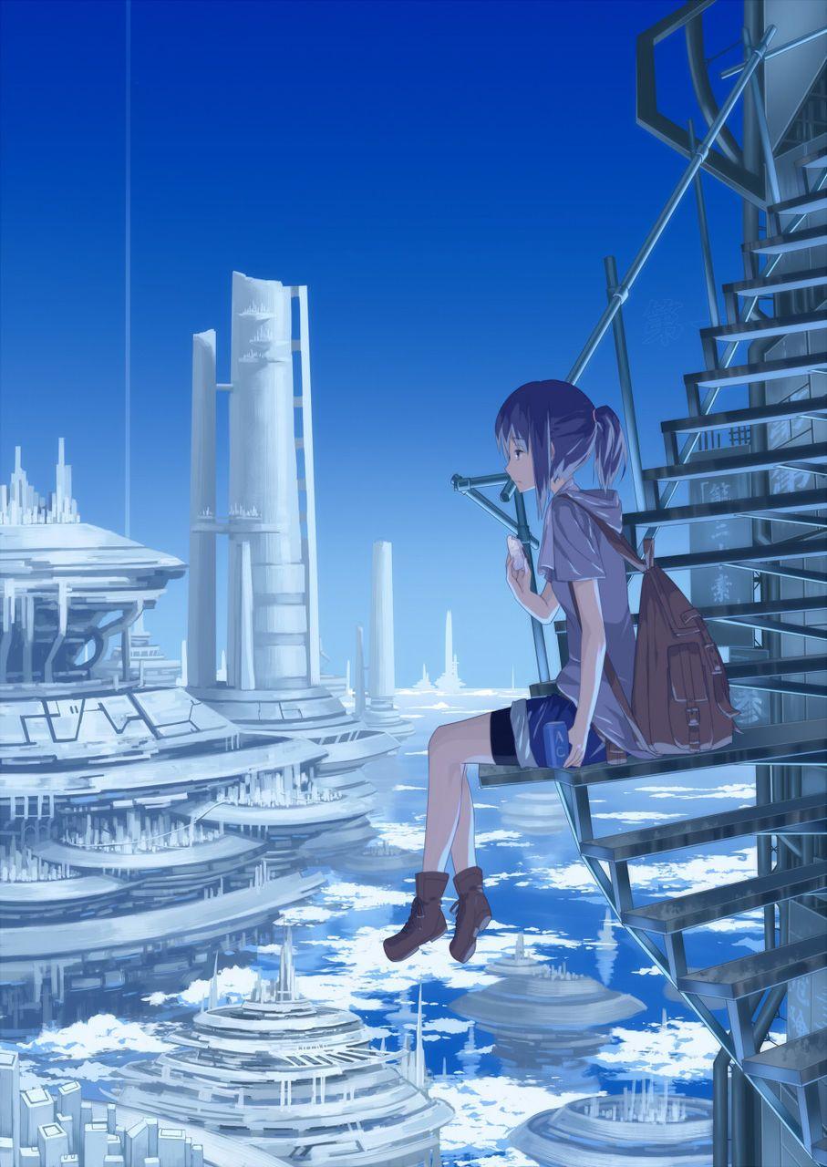 画像 二次元 ノスタルジックな気分に浸れる画像イラストまとめ Naver まとめ Anime Anime Scenery Anime Artwork
