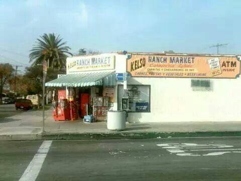 Kelso market in the hood