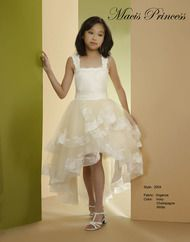 Tween Dress By Macis Design Junior Bridesmaid