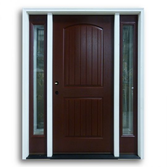 prehung mahogany fiberglass 2 panel v groove no glass kitchens direct exterior doors on kitchen cabinets no doors id=39037